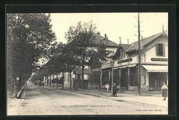 CPA Albertville, Avenue De La Gare, Restaurant - Albertville