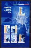 Italia 2019 - Giornata Della Filatelia BF - 6. 1946-.. Repubblica