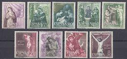 ESPAÑA - SPAGNA - SPAIN - ESPAGNE- 1966 - Lotto Di 9 Valori Nuovi MNH: Yvert 1134/1138 E 1140/1143. - 1931-Oggi: 2. Rep. - ... Juan Carlos I