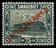 SAAR DIENSTMARKEN Nr 15I Ungebraucht X7A16D2 - 1947-56 Occupation Alliée
