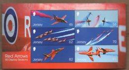 2014 Red Arrows Mini Sheet MNH - Jersey