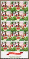 2011 Christmas Complete Booklet 10x 55c S/A MNH - Christmas Island