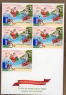 2011 Christmas Complete Booklet 5x $1.50 S/A MNH - Christmas Island