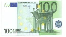 "100 EURO ""V"" M006A1 UNC - EURO"
