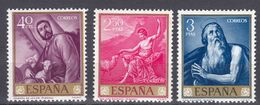 ESPAÑA - SPAGNA - SPAIN - ESPAGNE- 1963 - Lotto Di 3 Valori Nuovi MNH: Yvert 1162, 1167 E 1168. - 1931-Oggi: 2. Rep. - ... Juan Carlos I