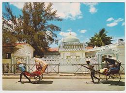 1669/ MAJUNGA, Madagascar. Mosquée Comorienne / Mosque. Rickshaw. - Non écrite. Unused. No Escrita. Non Scritta. - Madagascar