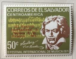 El Salvador - MH* - 1973 - # 833 - El Salvador