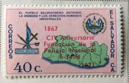 El Salvador - MH* - 1971 - # 823 - El Salvador