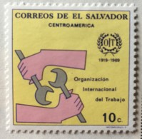 El Salvador - MH* - 1969 - # 802 - El Salvador