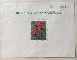 El Salvador - MH* - 1960 - # 718 Poor Condition - El Salvador