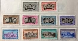 El Salvador - MH* - 1961 - # 719/728 - El Salvador
