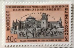 El Salvador - MH* - 1963 - # 737 - El Salvador