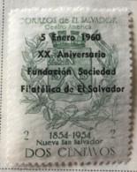 El Salvador - MH* - 1960 - # 706 - El Salvador