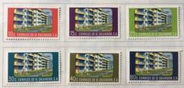 El Salvador - MH* - 1960 - # 707/712 - El Salvador