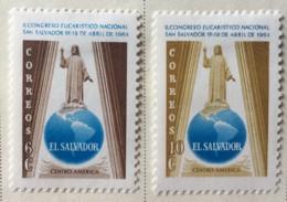 El Salvador - MH* - 1964 - # 744/745 - El Salvador