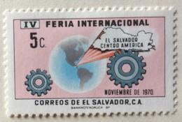 El Salvador - MH* - 1970-1971 - # 816/817 - El Salvador