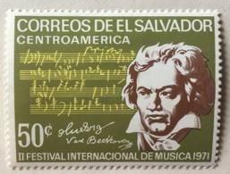 El Salvador - MH* - 1970-1971 - # 818 - El Salvador
