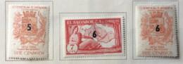 El Salvador - MH* - 1967 - # 694/696 - El Salvador