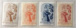 El Salvador - MH* - 1958 - # 678/681 - El Salvador