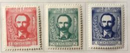 El Salvador - MH* - 1953 - # 631/633 - El Salvador