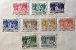 El Salvador - MH* - 1953 - # 635/643 - El Salvador