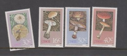 South Africa-Ciskei Scott 127-130 1988 Poisonous Mushrooms,mint Never Hinged - South Africa (1961-...)