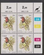 South Africa-Ciskei Scott R14 1981 Birds,10c Lybius Torquatus Dated 1983,Block 4,mint Never Hinged - South Africa (1961-...)