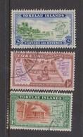 Tokelau SG 1-3 1948 Map,Used - Tokelau