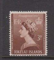 Tokelau SG 4 1953 Coronation,mint Never Hinged - Tokelau