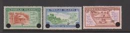 Tokelau SG 9-11 1967 Decimal Currency,mint Never Hinged - Tonga (1970-...)