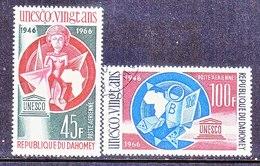 DAHOMEY  C 44-45   (o)   UNESCO - Dahomey (1899-1944)