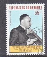 DAHOMEY  C 72   (o)   MARTIN  LUTHER  KING - Dahomey (1899-1944)