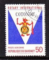 DAHOMEY  C 100   (o)   ROTARY  CLUB - Dahomey (1899-1944)