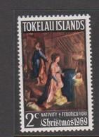 Tokelau SG 20 1969 Christmas,mint Never Hinged - Tokelau