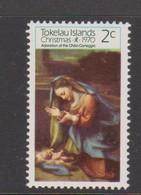 Tokelau SG 21 1970 Christmas,mint Never Hinged - Tokelau