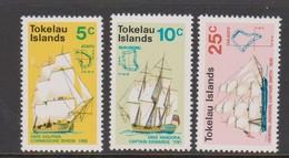 Tokelau SG 22-24 1970 Discovery Of Tokelau Islands,mint Never Hinged - Tokelau
