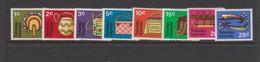 Tokelau SG 25-32 1971 Handicrafts, Mint Hinged Stamps - Tokelau