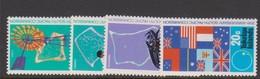 Tokelau SG 33-36 1972 25th Anniversary Of SPC,mint Hinged - Tokelau