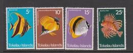 Tokelau SG 45-48 1975 Fish,mint Never Hinged - Tokelau