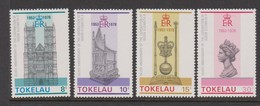 Tokelau SG 61-64 1978 25th Anniversary Of Coronation,mint Never Hinged - Tokelau