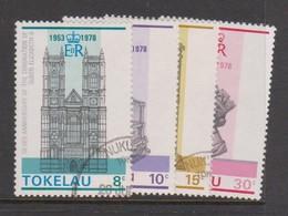 Tokelau SG 61-64 1978 25th Anniversary Of Coronation,used - Tokelau