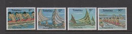 Tokelau SG 65-68 1978 Canoe Racing,mint Never Hinged - Tokelau