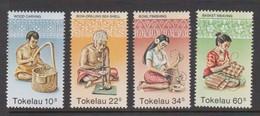 Tokelau SG 81-84 1982 Handicrafts,mint Never Hinged - Tokelau