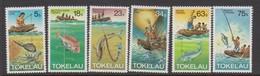 Tokelau SG 85-90 1982 Fishing Mwthods,mint Never Hinged - Tokelau
