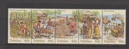 Tokelau SG 103-107 Copra Industry,mint Never Hinged - Tokelau