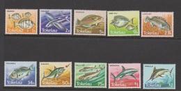 Tokelau SG 108-117 1984 Fishes,mint Never Hinged - Tokelau