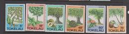 Tokelau SG 118-123 1985 Native Trees,mint Never Hinged - Tokelau