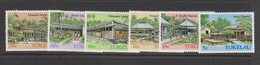 Tokelau SG 130-135 1986 Architecture 2nd Issue,mint Never Hinged - Tokelau