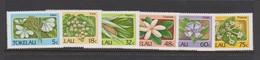 Tokelau SG 142-147 1986 Flora,mint Never Hinged - Tokelau