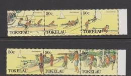 Tokelau SG 171-176 1989 Food Gathering,mint Never Hinged - Tokelau